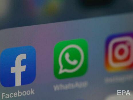 В Facebook, Instagram и WhatsApp случился второй за неделю сбой